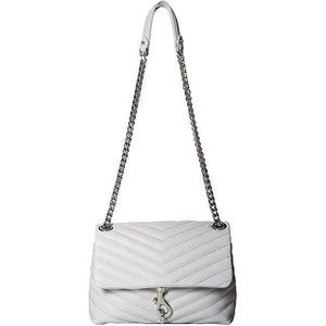 Rebecca Minkoff Edie Crossbody- Ice Grey